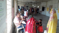 health check up camp at small villages